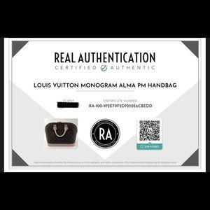 Louis Vuitton Bags - 💯 Authentic Louis Vuitton Alma PM